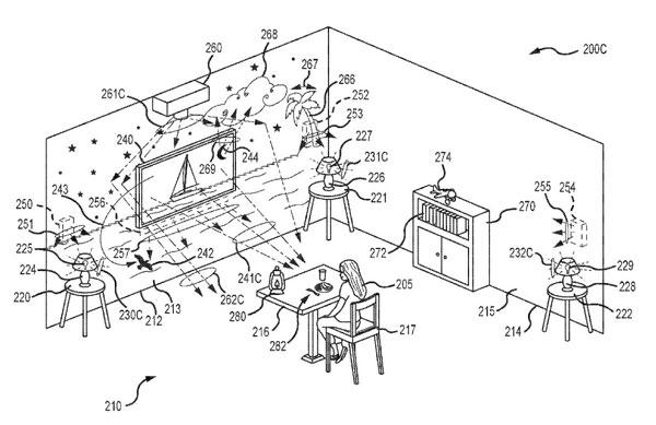 Das Patent für ein immersives Hotelzimmer
