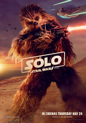 <i>Solo</i>-Poster: Chewbacca