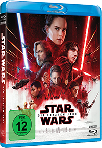 Die letzten Jedi - Blu-ray - Cover