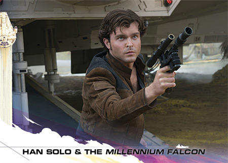 Topps Countdown to Solo: A Star Wars Story #1