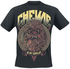 Chewie Is My Copilot - T-Shirt