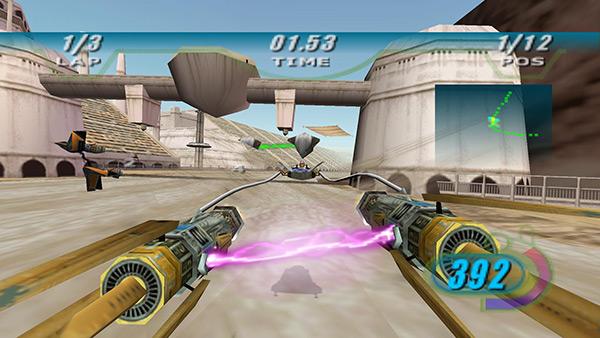 Screenshot aus Episode I Racer