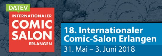 Comic-Salon 2018 - Logo