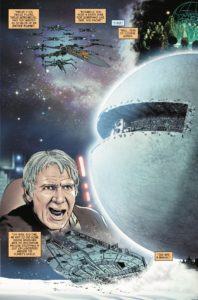 Vorschauseiten zu Poe Dameron #28: The Awakening, Part 3