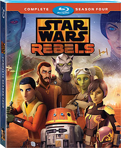 Star Wars Rebels Staffel 4 - Blu-ray-Cover