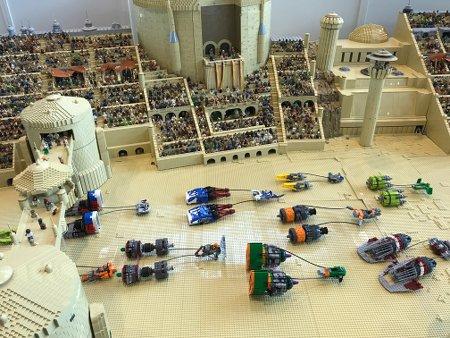 LEGO Modell Podrennen