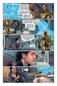 Vorschauseiten zu Poe Dameron #29: The Awakening, Part 3