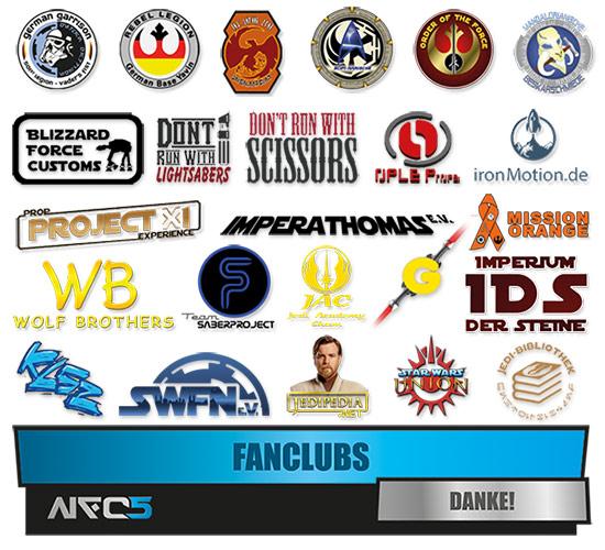 Die beteiligten Fanclubs