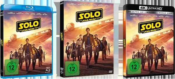 Die Heimkinoveröffentlichung von Solo