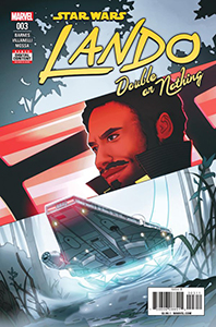 Cover zu Lando: Double or Nothing #3