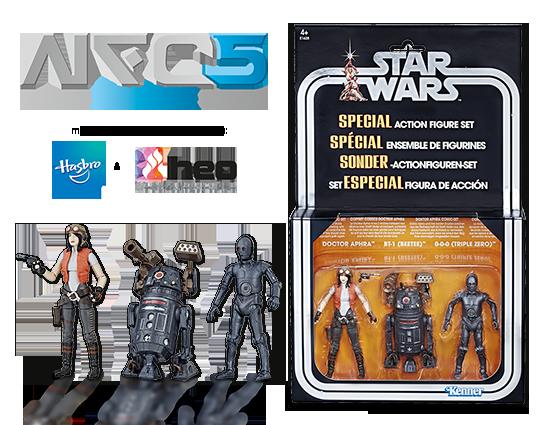 Noris Force Con 5 Exklusiv: Doctor Aphra Comic Set