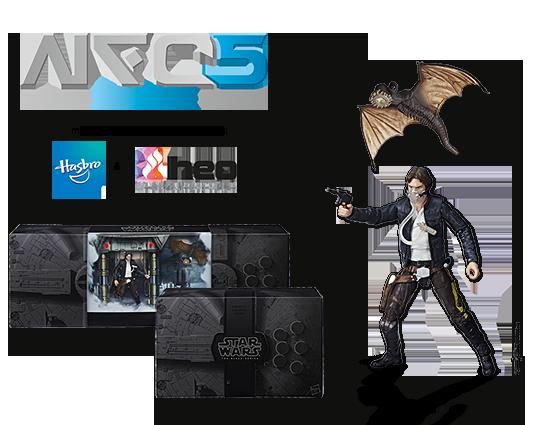 Noris Force Con 5 Exklusiv: Han Solos Exogorth Escape