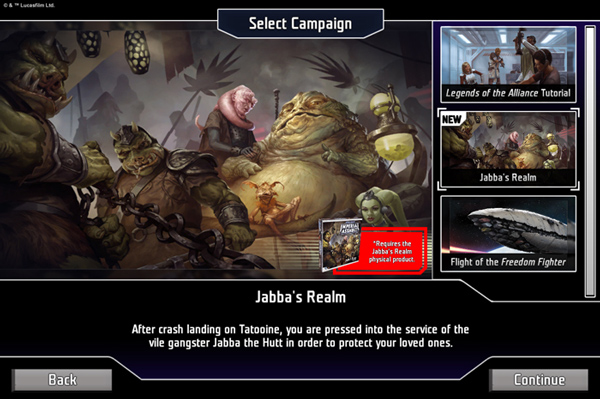 Star Wars: Imperial Assault: Legends of the Alliance - Jabba's Realm