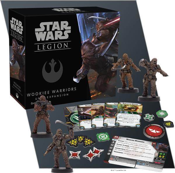 Star Wars: Legion - Wookiee-Krieger