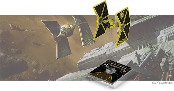 Star Wars: X-Wing 2. Edition - Minengilden-TIE