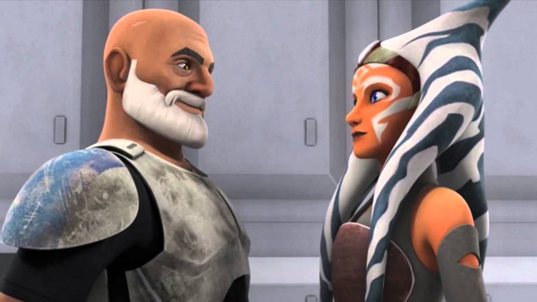 Rex und Ahsoka in Star Wars Rebels
