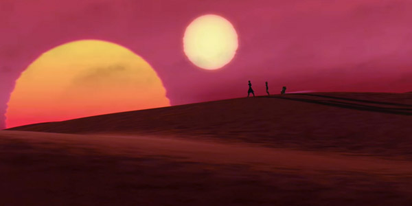 Tatooine im Kinofilm Star Wars: The Clone Wars