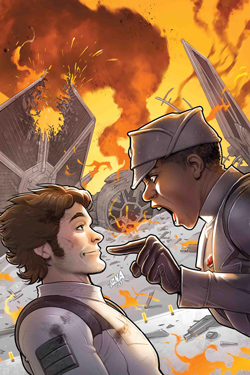 Han Solo - Imperial Cadet #1 - Cover