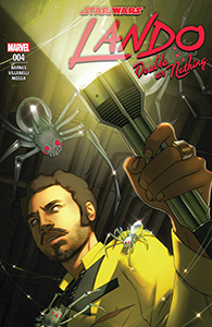 Cover zu Lando: Double or Nothing #4