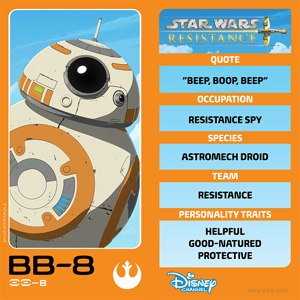 Star Wars Resistance: BB-8