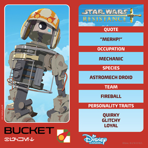 Star Wars Resistance: Bucket