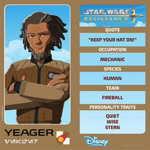 Star Wars Resistance: Yeager