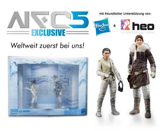 Noris Force Con 5 Exclusive: Han & Leia