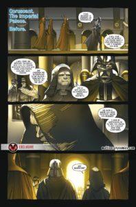 Vorschauseiten zu Darth Vader #21