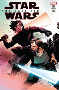 Cover zu The last jedi #6