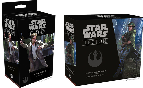 Star Wars: Legion - Han Solo & Rebellenkommandos
