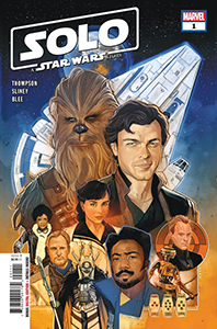 Cover zu Solo: A Star Wars Story #1