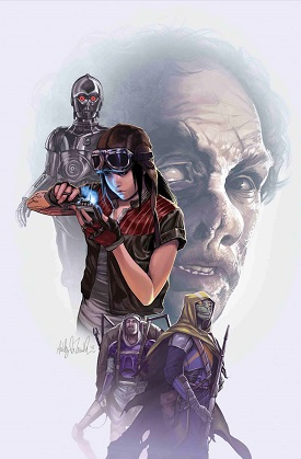 Star Wars: Dr. Aphra #28 - Worst Among Equals Part 3 - Cover