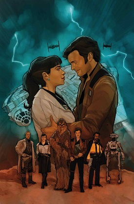 Solo: A Star Wars Story Adaptation #4 - Cover