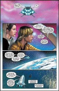 In den Weiten der Galaxis - Vorschau Seite 1