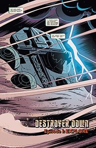 Vorschauseiten zu Star Wars Adventures: Destroyer Down #1