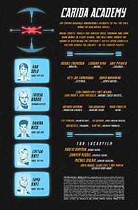 Vorschauseiten zu Han Solo: Imperial Cadet #1