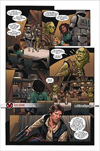 Vorschauseiten zu Star Wars #56