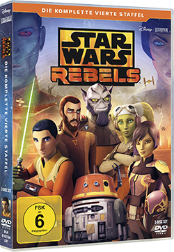 Star Wars Rebels Staffel 4 - DVD-Cover © 2018 & TM Lucasfilm Ltd.