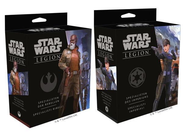 Star Wars: Legion - Spezialisten der Rebellen und des Imperiums