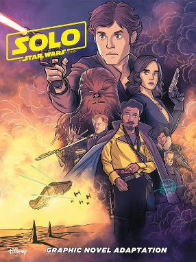 Solo - Junior Graphic Novel - US-Cover