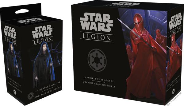 Star Wars: Legion - Imperator Palpatine & Imperiale Ehrengarde