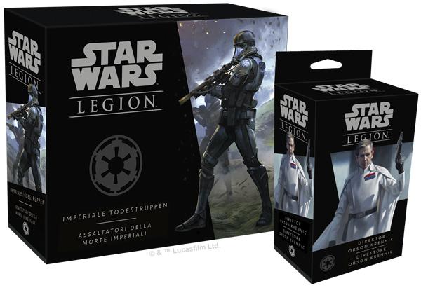 Star Wars: Legion - Direktor Krennic & Imperiale Todestruppen