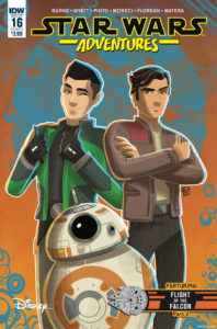Cover zu Star Wars Adventures #16