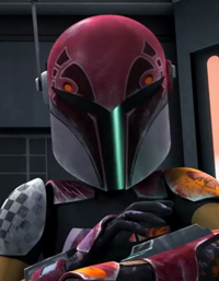 Sabine Wren in <i>Star Wars: Rebels</i>