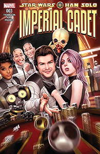Cover zu Han Solo: Imperial Cadet #3