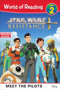 Star Wars Resistance: Meet the Pilots - Cover