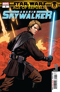 Cover zu Age of Republic: Anakin Skywalker #1