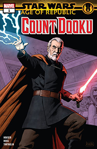 Cover zu Age of Republic: Count Dooku #1