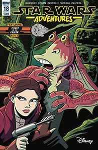 Cover zu Star Wars Adventures #18