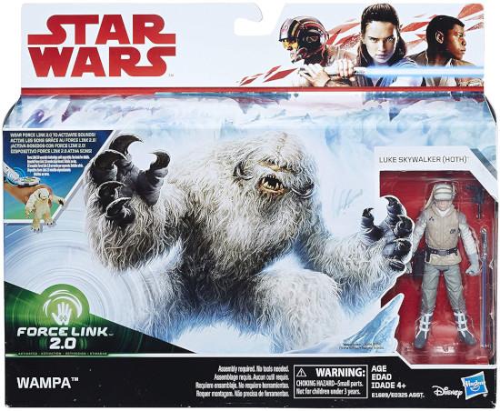Wampa und Luke auf Hoth